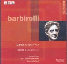 Discografía mahleriana básica (Cuarta Sinfonía) Barbirolli-4.1967