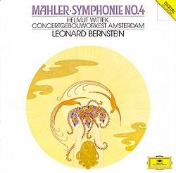 Discografía mahleriana básica (Cuarta Sinfonía) Bernstein-4.1987