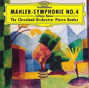 mahler - Gustav Mahler : 4ème symphonie Boulez-4